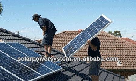 6000w High quality 280 watt solar panel