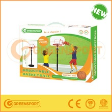 Children portable plastic indoor basketball play set