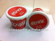 eco-friend mini flower plastic pots cocacola cup pot sets