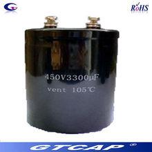 screw electrolytic aluminium capacitor 450v 10000uf kondensator