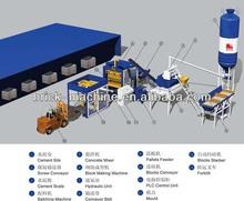 Automatic block making machine production line QT6-15