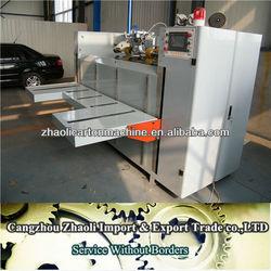 Semi-auto staple machinery / corrugated carton box foming