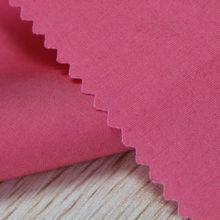 Shaoxing textile cotton/spandex solid poplin fabric pink poplin