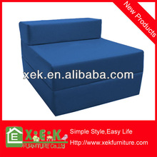 2014 Harmony kids blue leather sofa