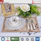 2014 beautiful 20pcs bone china dinnerware