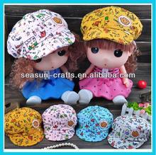 Newest wholesale cotton baby berets cap