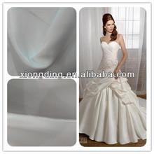 bridal satin fabric/matt satin fabric/dull satin