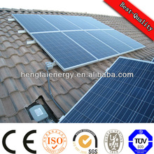 10kw off grid solar panel inverter system with high efficiency solar panels