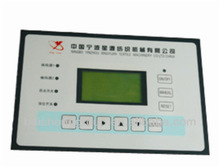 Plastic injection moulding house appliance control panel