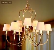 lujoso nacional buen servicio de sala de recepción de clásico de araña de cristal de iluminación con cortina de la tela