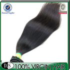 Grade 5A Virgin Straight Hair Extensions Overseas Brazilian Hair Weave