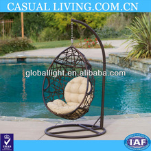 Outdoor Swinging Egg Chair