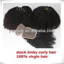 No tangle no shedding tight kinky curl virgin mongolian hair weave