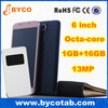 new products Smart phone Octa core 6 inch touch screen telefonos moviles ultima generacion