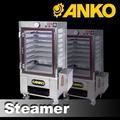 anko pequeña escala de alimentos de la mezcla de vapor de vapor de la máquina fooding