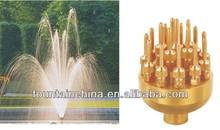 Three-tier flower spray jet nozzle water jets nozzles fountain