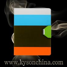 Bright color stripe case for ipad 5