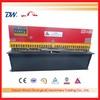 QC12K series hydraulic shearing machine , 16mm thickness iron cutting machine , 2500mm length plate shearer machinery