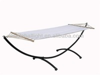 Hammock with stand camping beach garden steel frame swing beds Tristar
