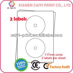 A4 CD Labels