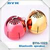 Christmas Gift colorful stereo mini speaker ,wireless bluetooth speaker ,drop resistance colorful ball speaker