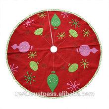 Christmas tree skirt for Christmas tree decorate,UW-CTS055