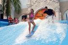 surfing simulator flow rider board ride water amusement park sport