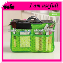 Newest cheapbag in bag organizer insert travel bags women 12 Pockets 10 Colours