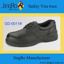 basic worker used steel toe anti-shock black safety shoes Malaysia