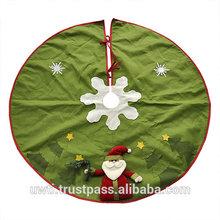 Christmas tree skirt/Christmas carpet,UW-CTS048