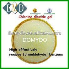 chlorine dioxide gel toilet deodorizer