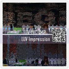 led advertising curtain screen /led screen