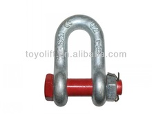 bolt type chain shackles