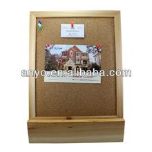 Wooden bulletin board / notice board / memo board
