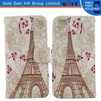 3D Sublimation Case Leather Flip Case Sublimation for Iphone 5 Sublimation Flip Case