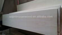 solid wood paulownia edge glued panels