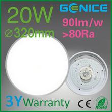 20W Daylight 108 SMD LED White Ceiling