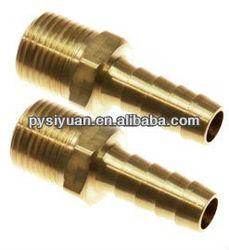 brass hose nipples/brass hose/barbs male