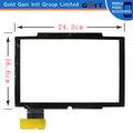 Nueva pantalla táctil capacitiva de reemplazo para 10.1 pulgadas tablet pc dh- 0901a1- fpc10,24.3cm*16.6cm tamaño de color negro, gk-092