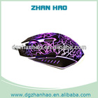 2014 best selling waterproof 6d gaming optical mouse with color changing function
