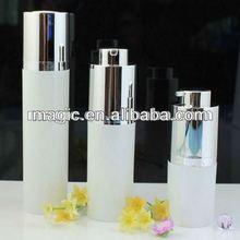 round airless bottle airless lotion pump bottle airless dispenser bottle