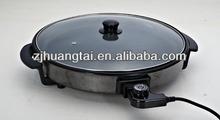 40cm electric pizza pan with CE ROHS LFGB ECM certificate