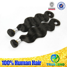 Free Sample 5A Grade Virgin Ideal Tangle Free Crochet Braids With Human Hair