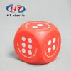 HTPU084 promotional anti stress cube/cube stress ball