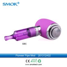smoktech pioneer pipe mod 510 mod ecig personal vaporizer e pipe