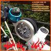 Hot-sale 3XCree XM-L2 U2(3600LM) Plastic battery pack 5000MAH 12V wireless LED led headlight