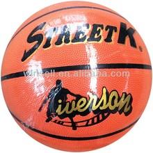 Wholesale bottom price indoor pu basketball