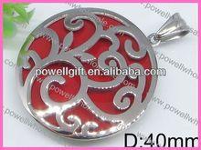 Powell joyas heart murano glass pendant