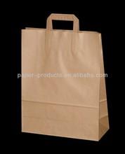 Dongguan supplier brown kraft paper bag packaging from China