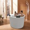 Chinese round cheap freestanding bathtub